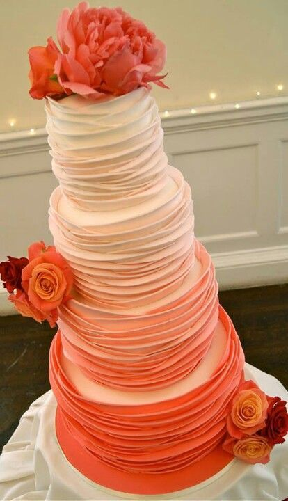 Orange-Wedding-Cake-Ideas-Inspirations