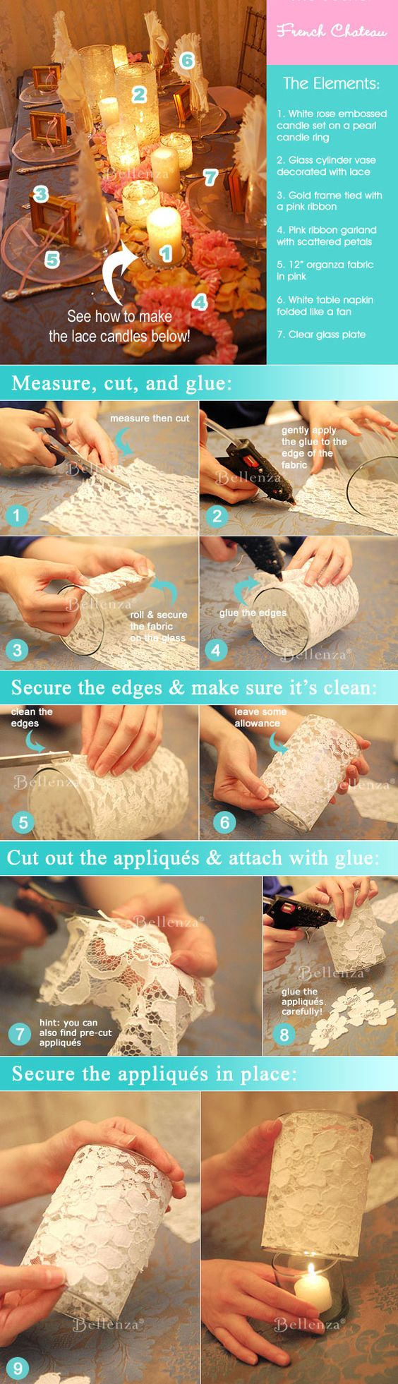 DIY-lace-covered-candle-holders-tutorial