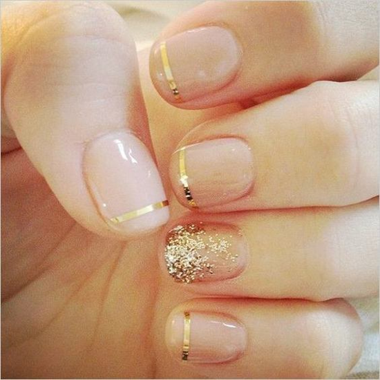nude-glitter-wedding-nails-for-brides-11-17