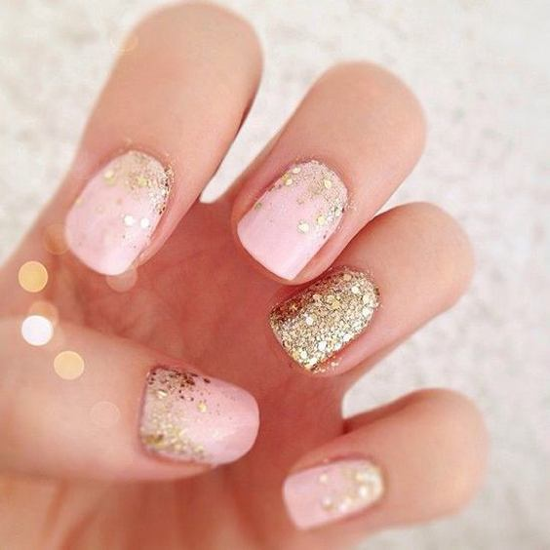 nude-glitter-wedding-nails-for-brides-21-21