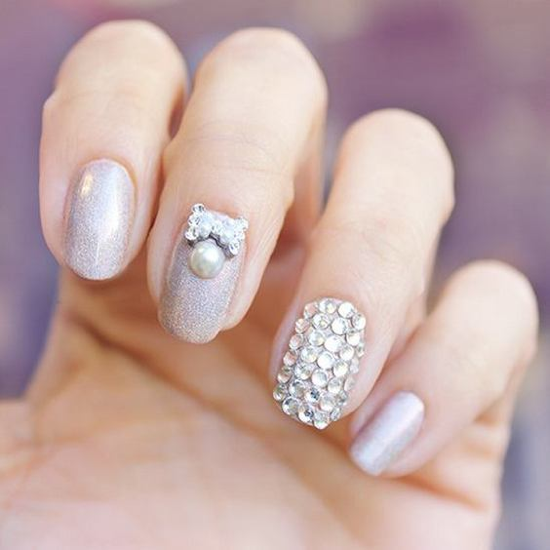 nude-glitter-wedding-nails-for-brides-23-23