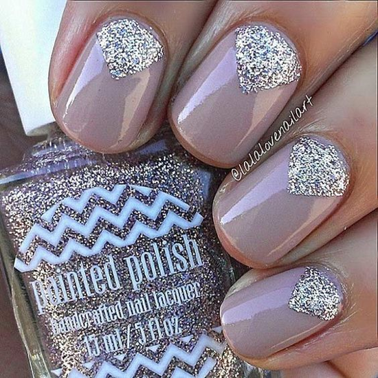 nude-glitter-wedding-nails-for-brides-27-25