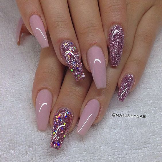 nude-glitter-wedding-nails-for-brides-49-35
