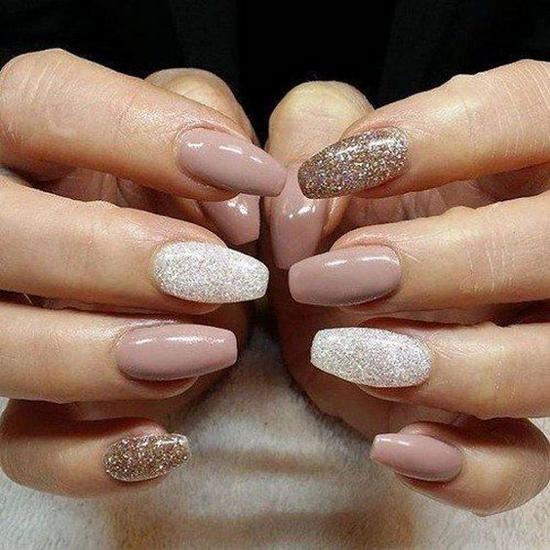 nude-glitter-wedding-nails-for-brides-55-41