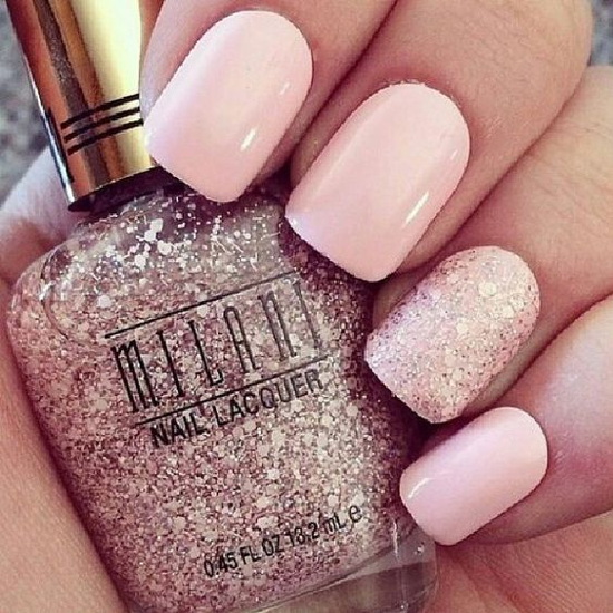nude-glitter-wedding-nails-for-brides-59-44