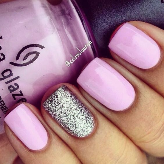nude-glitter-wedding-nails-for-brides-60-45