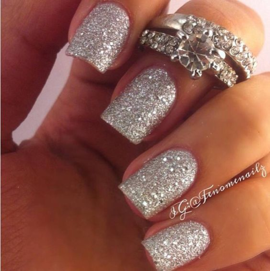 nude-glitter-wedding-nails-for-brides-62-47
