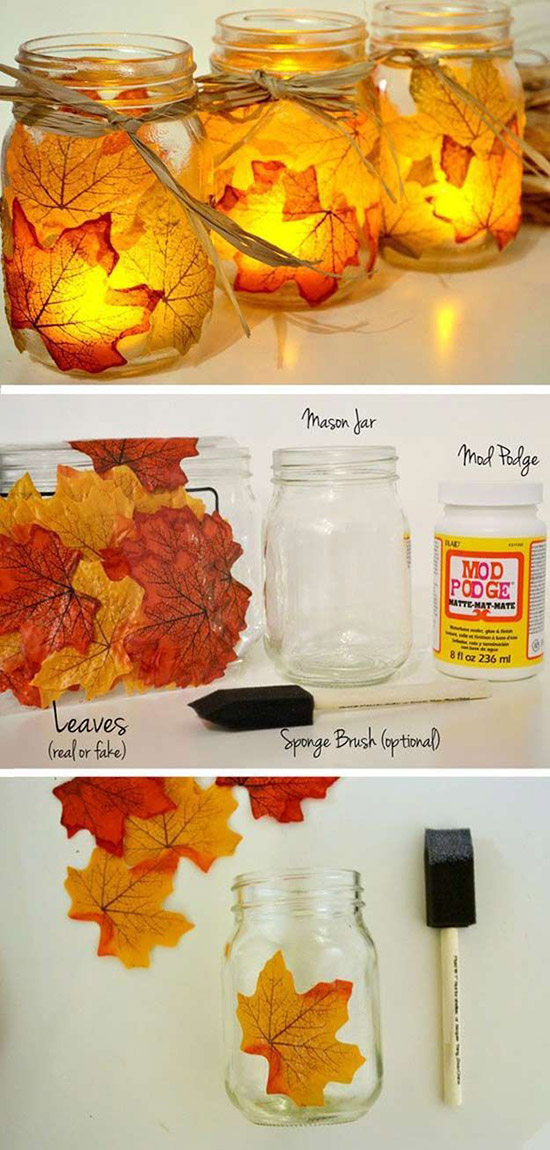 diy-fall-maple-leave-mason-jar-candle-holder-for-autumn-weddings