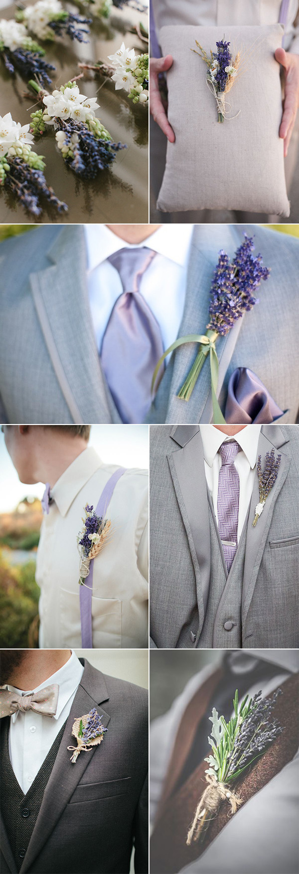 chic-rusitc-lavender-wedding-boutonnieres-for-guys