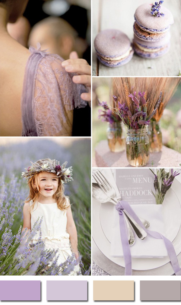 chic-rustic-lavender-and-wheat-neutral-wedding-colors-2015