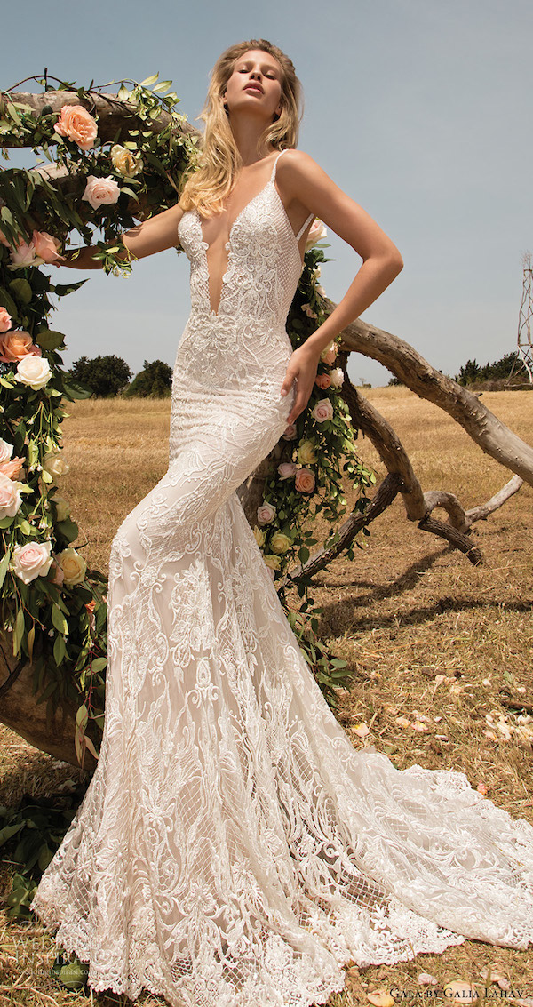gala-galia-lahav-spring-2017-sleeveless-beaded-straps-deep-vneck-lace-sheath-wedding-dress-708-mv