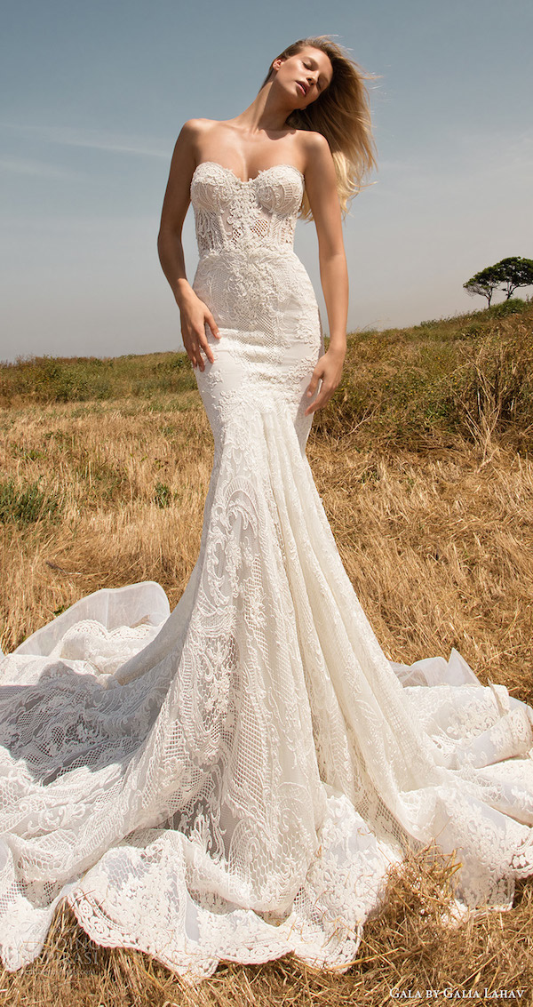 gala-galia-lahav-spring-2017-strapless-sweetheart-lace-mermaid-wedding-dress-704-mv-train