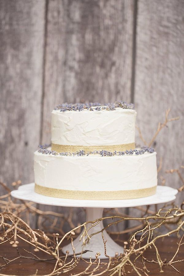 Lavender+Wedding+Cake
