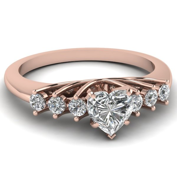 rose-gold-heart-white-diamond-engagement-wedding-ring-in-prong-set-FDENR7719HTR-NL-RG
