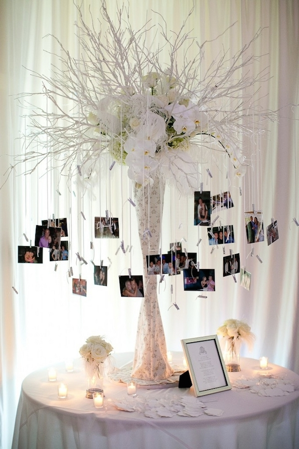 DIY-wedding-tree-centerpieces-with-photos