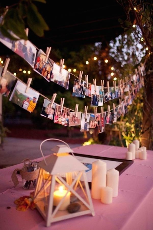 Polaroid-wedding-garland-wedding-photo-display-decor