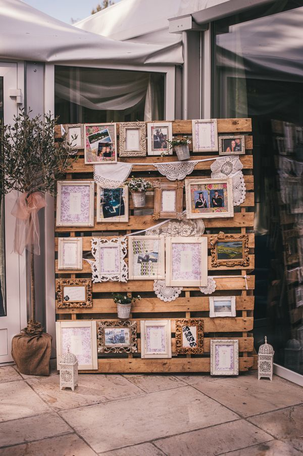 vintage-rustic-lace-photo-frame-and-a-seating-chart-decor