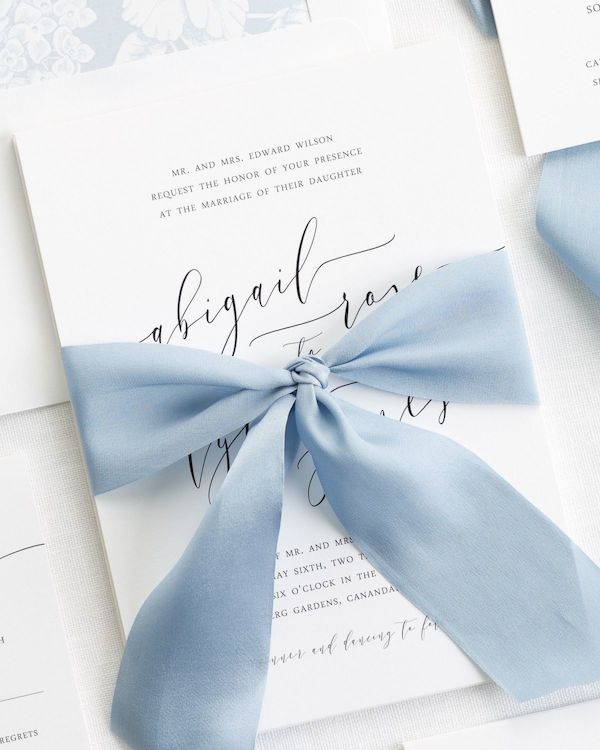 Romantic-Calligraphy-Ribbon-Wedding-Invitations-1-1200x1500