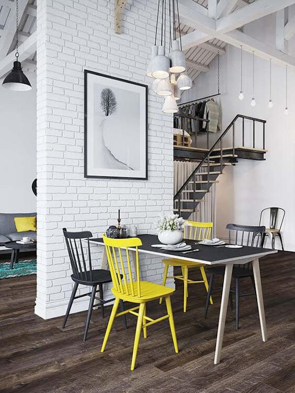Scandinavian-interior-with-pop-of-colour