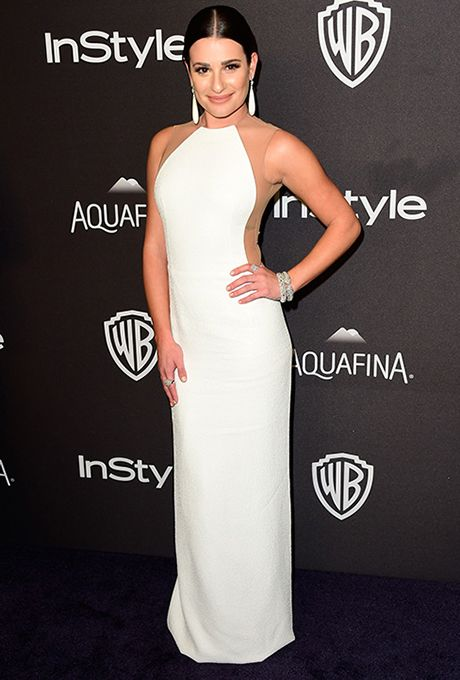 BEVERLY HILLS, CA - JANUARY 10: Actress Lea Michele attends InStyle and Warner Bros. 73rd Annual Golden Globe Awards Post-Party at The Beverly Hilton Hotel on January 10, 2016 in Beverly Hills, California. (Photo by Frazer Harrison/Getty Images)